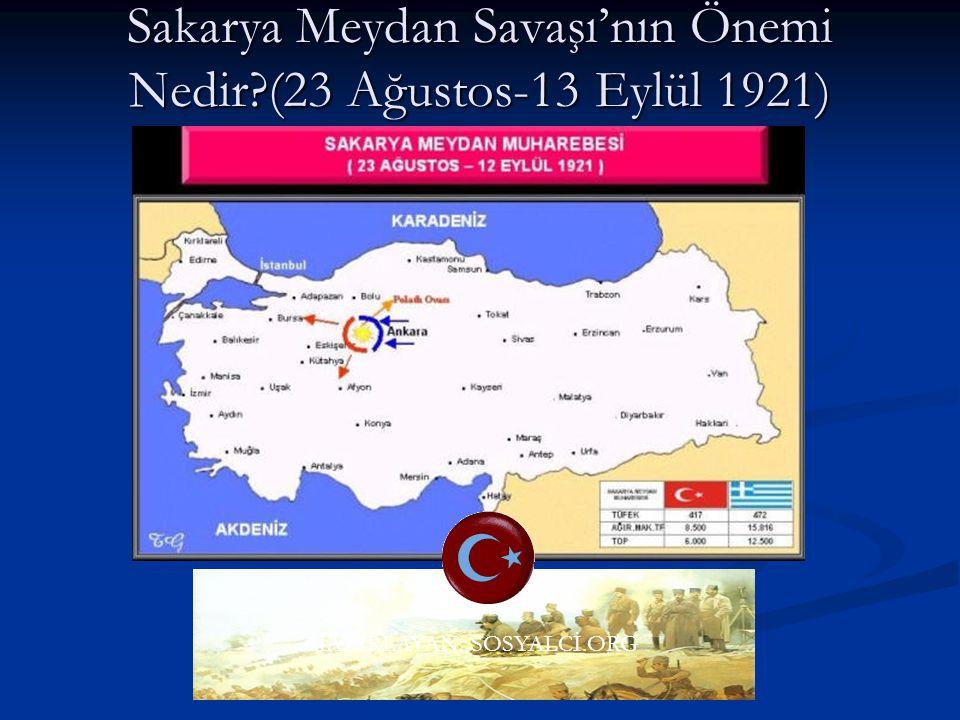 Büyük Taarruz ve Başkomutanlık Meydan Muharebesi'nin Önemi Nedir?(26Ağus-18 Eylül 1922 Milli mücadelenin silahlı mücadelesi başarıya ulaştı. Milli müc