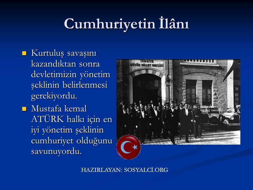 Kurtuluş Savaşı'nın silahlı safhası bitmiş, diplomatik safhası başlamıştır. Osmanlı Devleti'nin merkezi İstanbul T.B.M.M'ne bırakılmakla, Osmanlı Devl