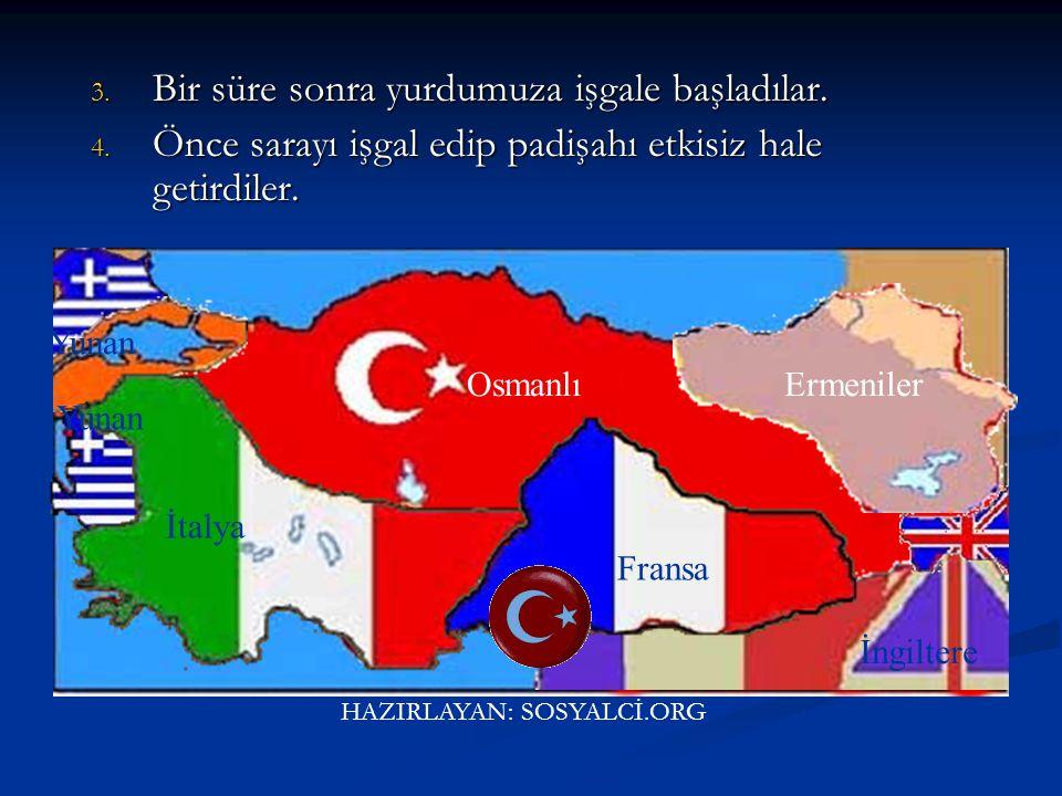 Kurtuluş Savaşı Bu antlaşmaya göre. Bu antlaşmaya göre. 1. Osmanlı ordusunun silahları elinden alınacak ve askerleri dağıtılacak, 2. Tehlikeli görülen