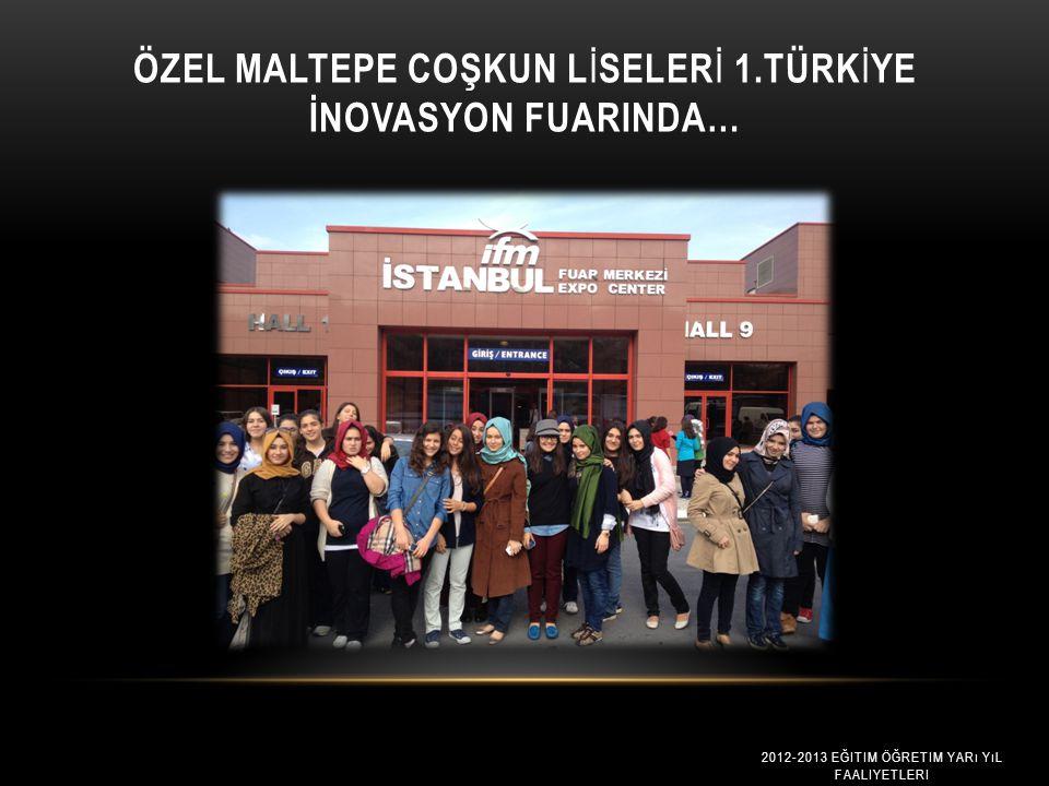 TÜRK İ YE İ Ç İ N YARIŞIP DÜNYA B İ R İ NC İ S İ OLDULAR Türkiye adına Brezilya'da 27. Mostratec Uluslararası Bilim ve Teknoloji Proje Yarışmasında Co