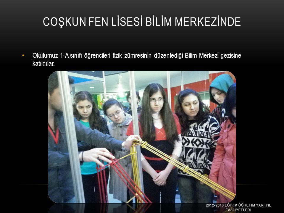 OKULUMUZDA EFKAN YEŞILDAĞ'I AĞARLADIK..