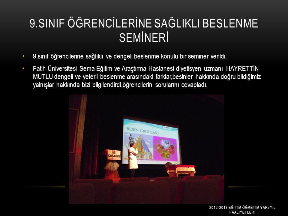 OKULUMUZDA ABDÜLREZZAK Ç İ L ' İ AĞARLADIK Okul zümre çalışmaları kapsamında okulumuzda Kariyer Penceresi Proje yöneticisi Fatih Üniversitesi Rehberli