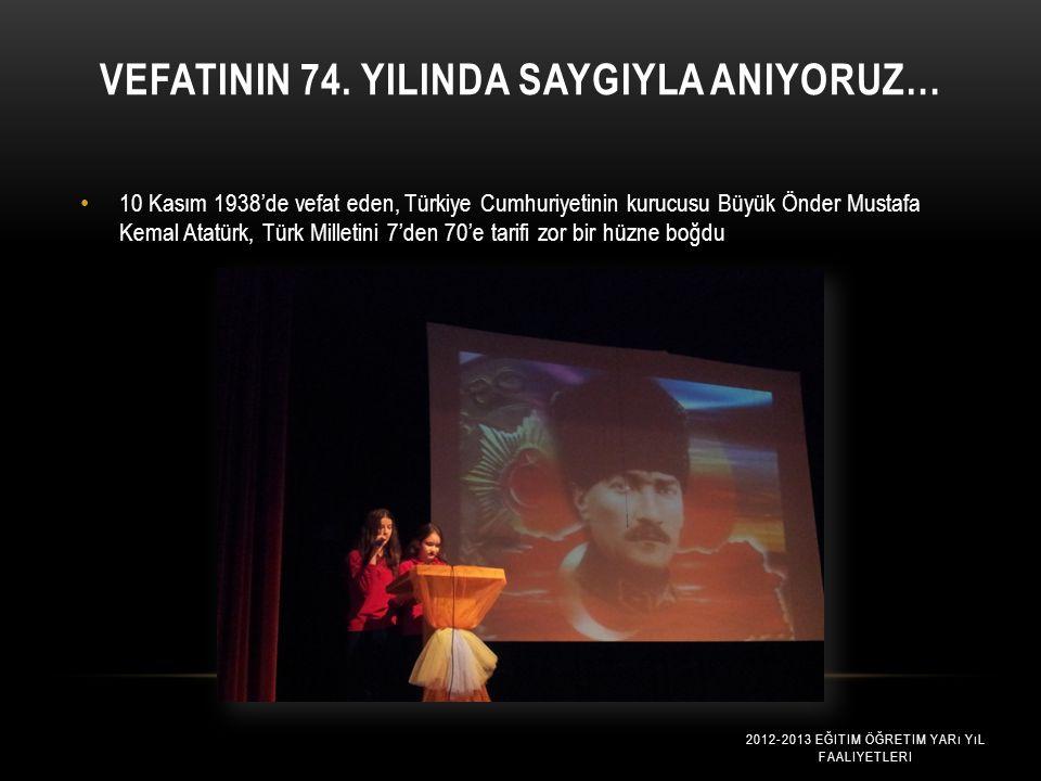 11 A SINIFI BOĞAZİÇİ FATİHİ Özel Maltepe Coşkun Anadolu Lisesi 11A sınıfı öğrencileri önceki gün Boğaziçi Üniversitesine bir gezi düzenledi. 2012-2013
