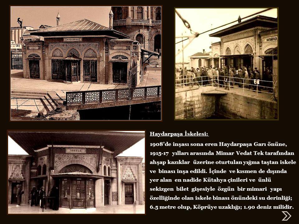 Gar binası 19 Ağustos 1908 günü işletmeye açıldı… Ancak bazı eksikliklerinin tamamlanması bir yılı aşkın bir süre devam etti ve resmi açılış 4 Kasım 1909 günü Sultan Reşat'ın (V.