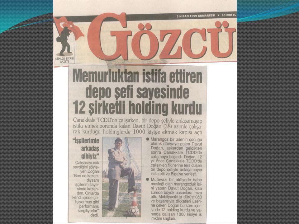 2009 - En büyük 500 sanayi kuruluşundan biri.2009 – Anadolu'nun En Büyük 250 kuruluşundan biri.