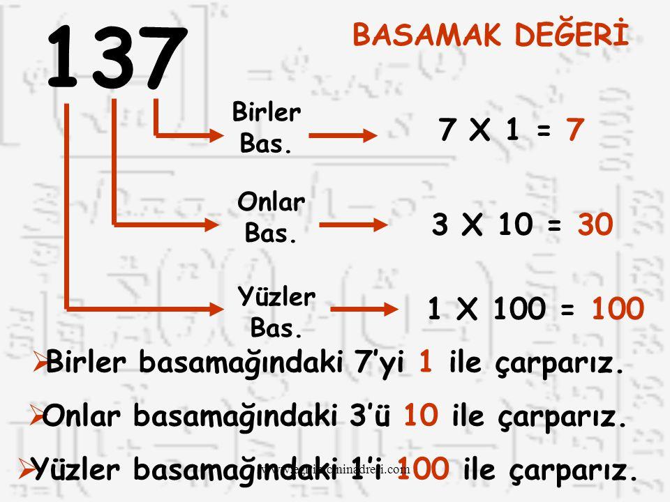 ONLAR BAS. BİRLER BAS. 48 4 Onluk8 Birlik 4 X 108 X 1 408 48 www.egitimcininadresi.com