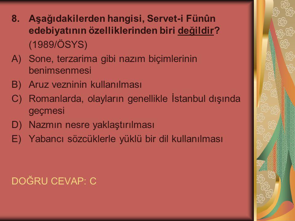 9.Çürüyen, yozlaşan İstanbul ve bu İstanbul'un çürümüş, yozlaşmış insanları...