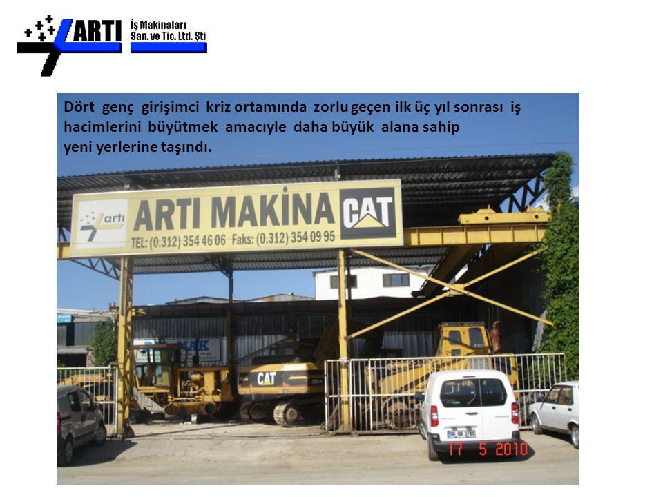 Borusan Makine'nin Ankara'da faaliyetlerine başladığı ve yaklaşık olarak 2 yıl servis ve sonraki 10 yıl boyunca yedek parça bölümü olarak kullandığı 10.Sokak No:9 adresine taşındılar.