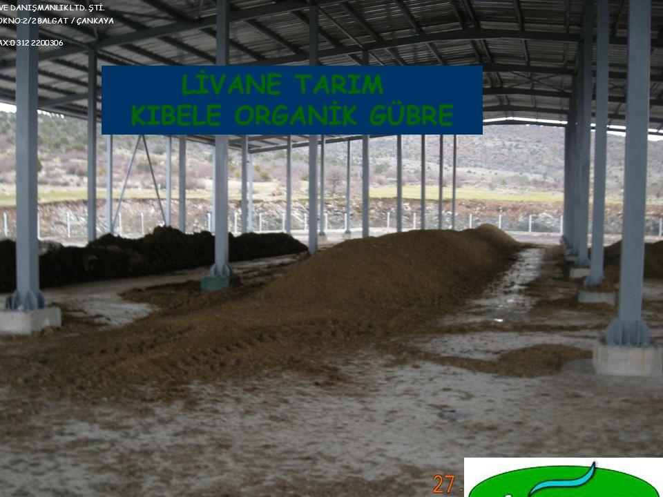 KIBELE TAVUK GÜBRESİNİN YARARLARI Yüksek katyon değişim kapasitesi özelliği ile bitki besin maddelerinin toprakta tutulmasına yardımcı olur ve toprakları olabilecek ekstrem tuzluluk ve pH değişimlerine karşı dirençli kılar.
