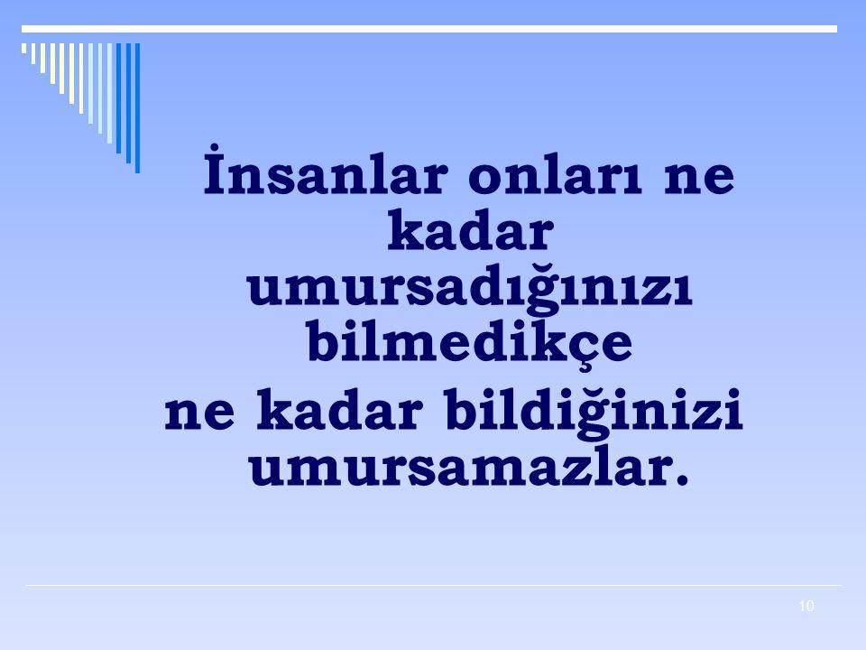 9 Bunun için öğretmen iletişim süreçlerini iyi bilmeli ve bunun yanı sıra; - Türkçeyi iyi kullanmalı - Sağduyulu olmalı - Anlayışlı olmalı - Empati ku