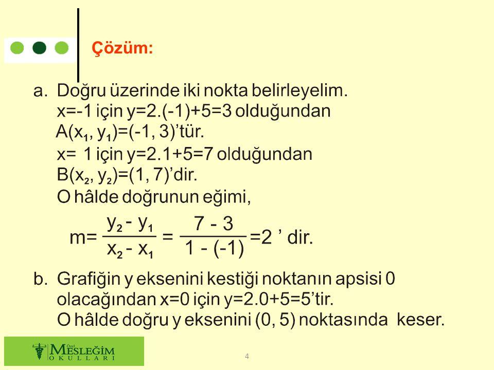 Çözüm: 4
