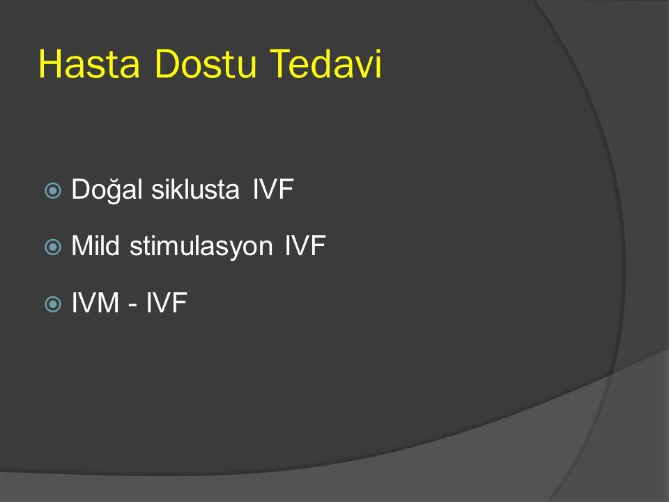 IVM  Her adet döneminde 20 kadar antral folikül seçilir ve preovulatuar döneme kadar büyümeye devam eder.