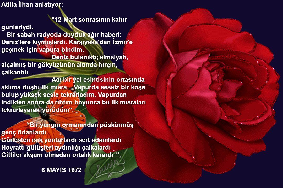 Atilla İlhan'ın bu güzel şiiri daha sonra bestelendi. Şiiri okurken ya da şarkı olarak dinlediğinizde adı geçen Müjgan hakkında ne biliyorsunuz? Şiiri