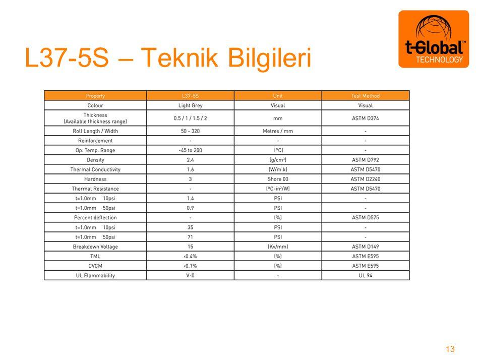 L37-5S – Teknik Bilgileri 13
