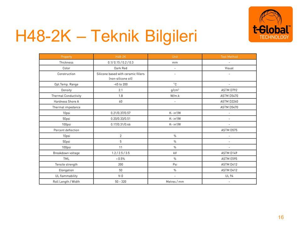 H48-2K – Teknik Bilgileri 16