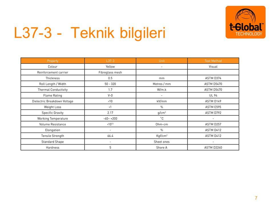 L37-3 - Teknik bilgileri 77
