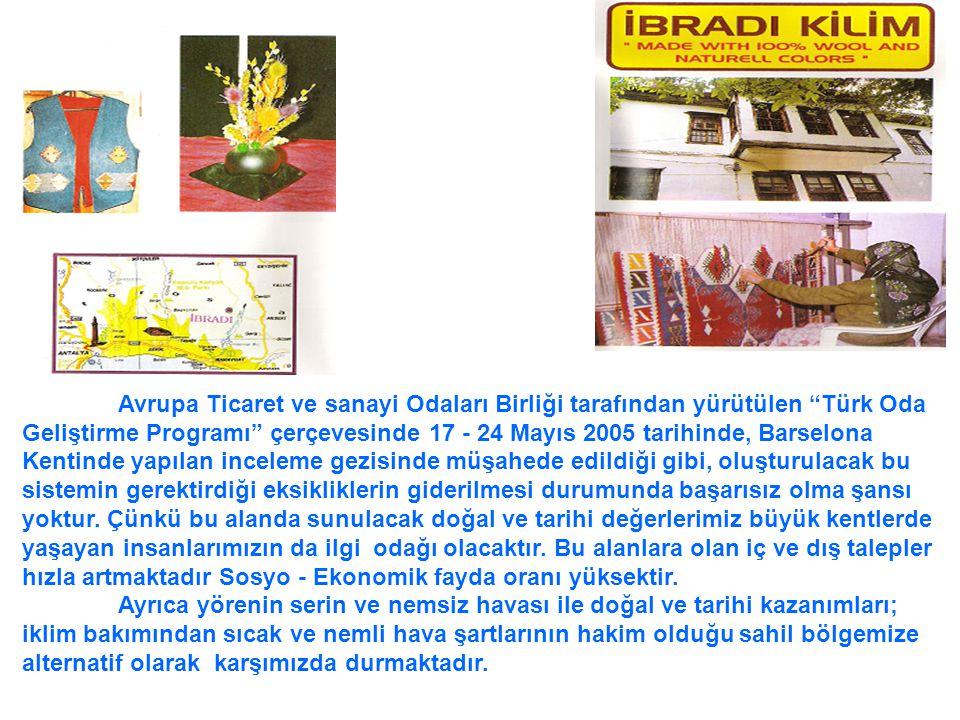 """Avrupa Ticaret ve sanayi Odaları Birliği tarafından yürütülen """"Türk Oda Geliştirme Programı"""" çerçevesinde 17 - 24 Mayıs 2005 tarihinde, Barselona Kent"""