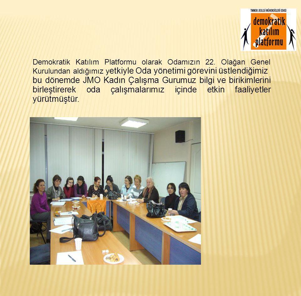 Kadın Çalışma Gurubumuz yalnızca kadın sorunlarıyla sınırlı kalan faaliyetler yürütmedi.