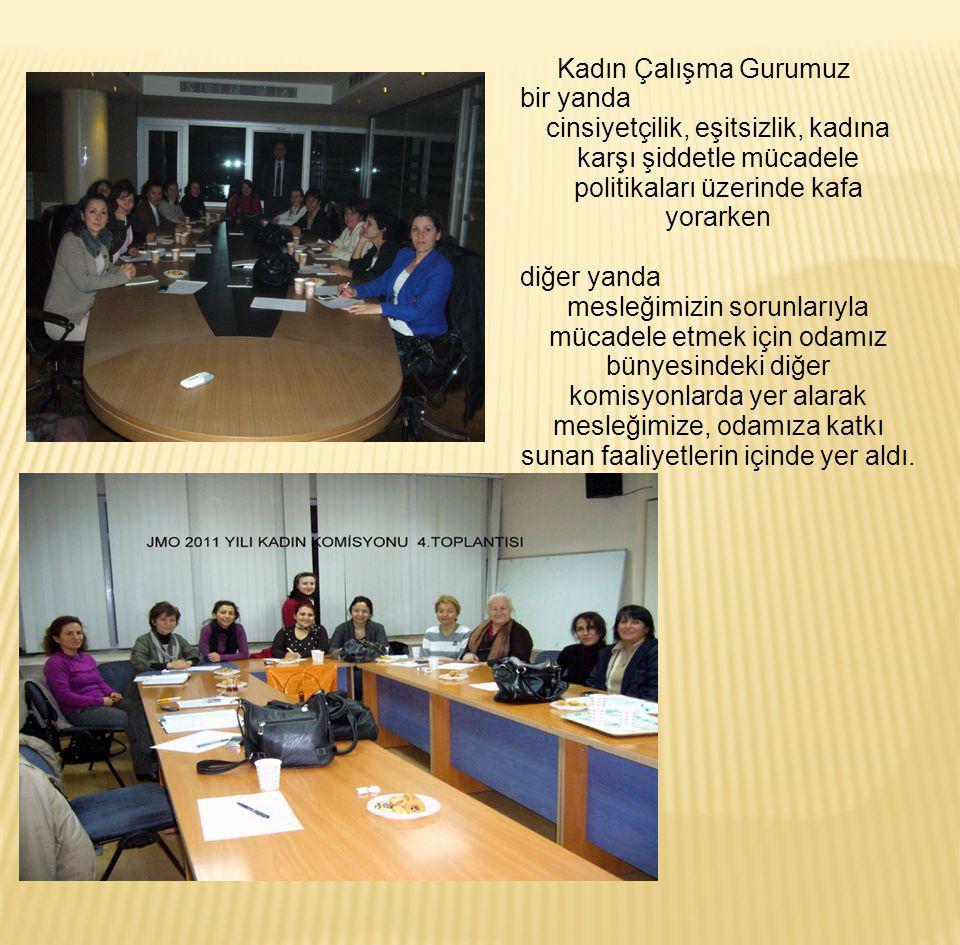8 mart etkinlikleri başta olmak üzere Toplumsal cinsiyet, kadına karşı şiddet ve ülkemizde kadının yeri temalı, geniş katılımlı toplantılar düzenledi.