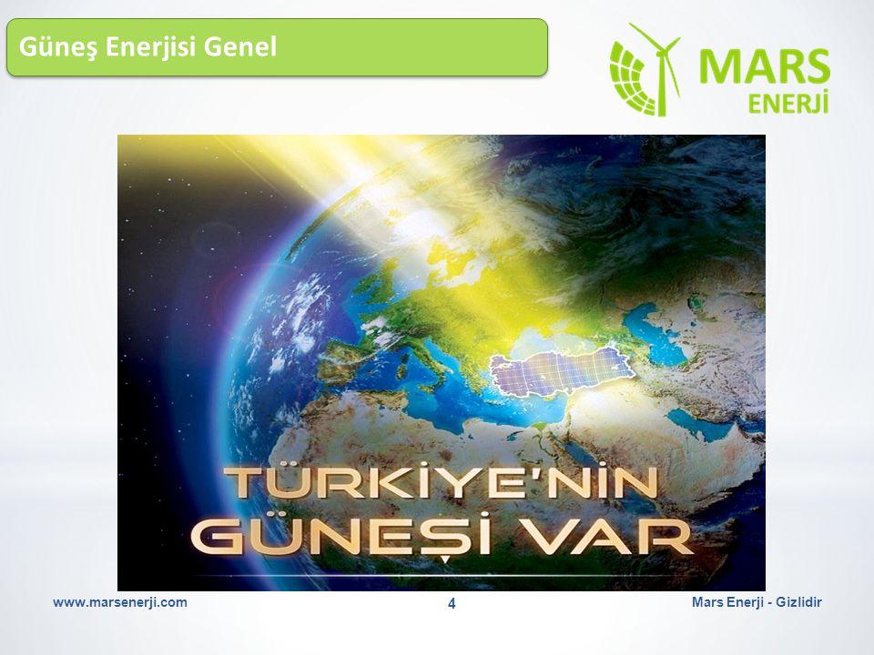 Güneş Enerjisi Genel Mars Enerji - Gizlidirwww.marsenerji.com 4
