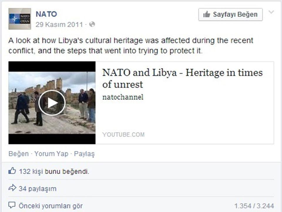 NATO'nun Libya müdahalesinin hemen ardından Nature dergisinde çıkan konuyla ilgili bir haberin giriş cümlesi dikkate değer: Libya'da arkeoloji nihayet yeşerme şansına erişti.