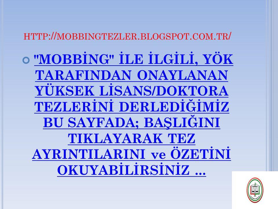 HTTP :// MOBBINGTEZLER. BLOGSPOT. COM. TR /