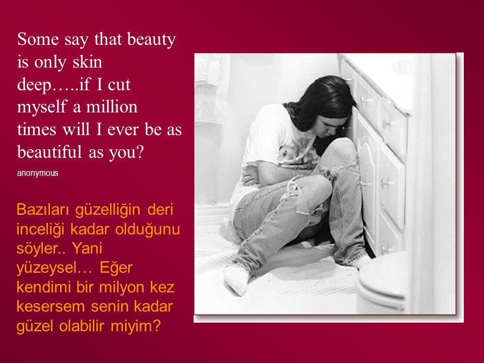 Kıbrıs, 2010 Suggestions for Counselors Psikolojik danışmanlar için öneriler Get comfortable with self-harm KZV davranışlarıyla rahat olmak