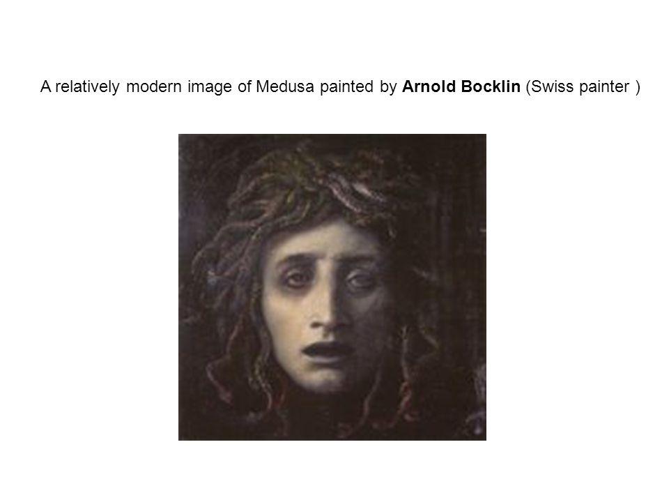 Medusa, Poseidon'dan gebe kalmıştır.