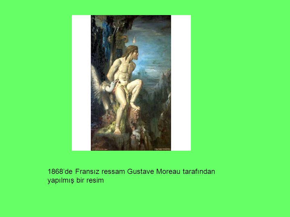 1868'de Fransız ressam Gustave Moreau tarafından yapılmış bir resim