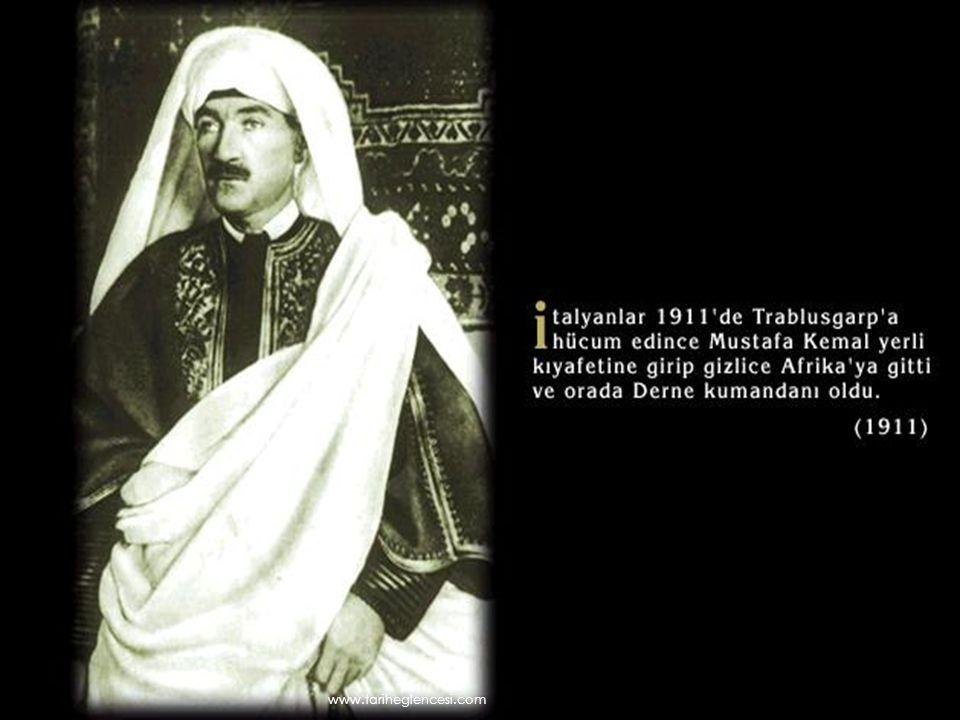  Savaş başladıktan sonra tarafsız-lığını ilan eden İtalya 1915 yılında İtilaf Devletleri'ne katıldı.