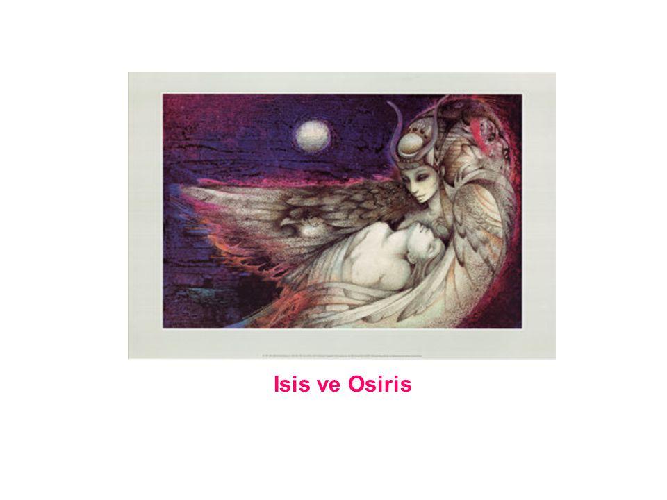 Bundan sonra Osiris yeryuzunde kalmaz ve ruhlarin gittigi bolgenin krali olur.