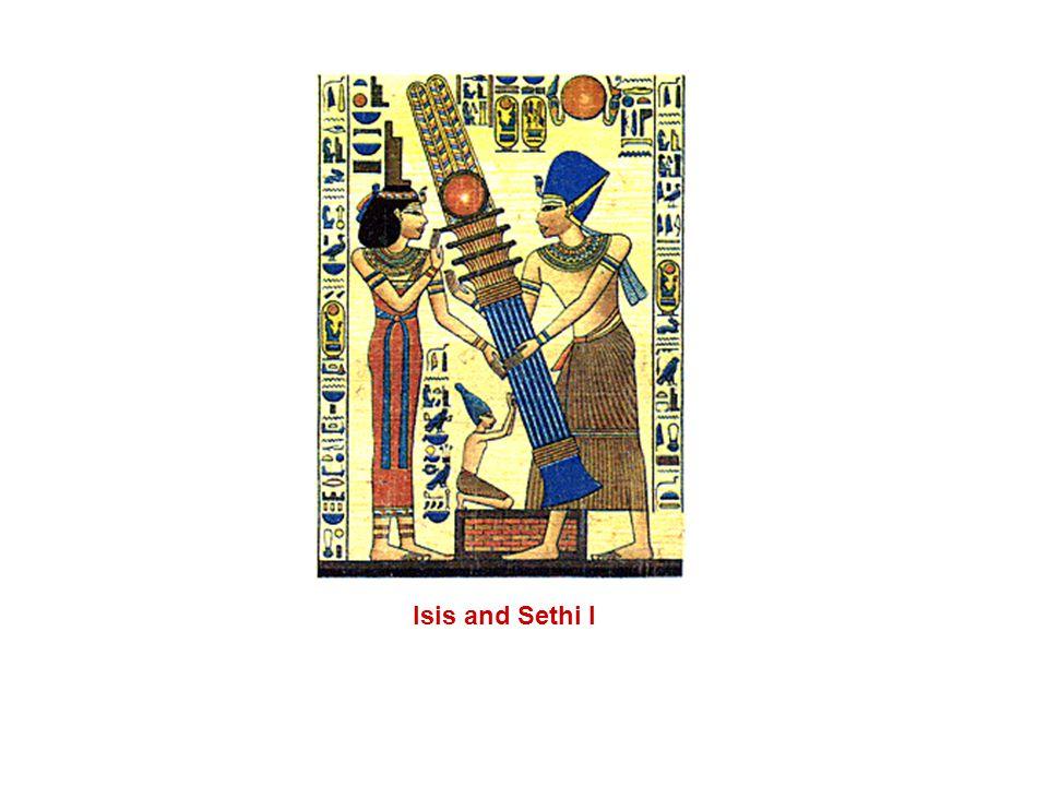 Isis and Queen Nefertari