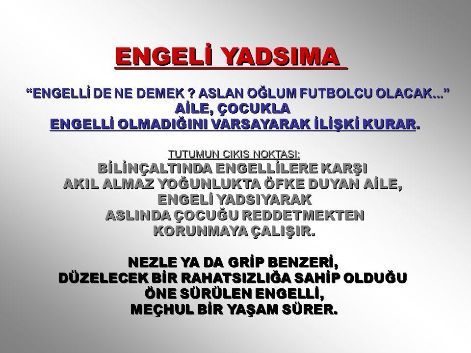 ENGELİ YADSIMA ENGELLİ DE NE DEMEK .