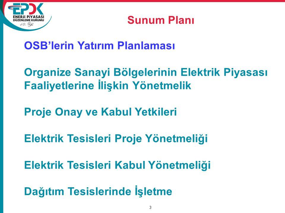 Elektrik Tesisleri Proje Yönetmeliği 34 Genel hükümler Tüm projeler Türkçe olarak hazırlanır.
