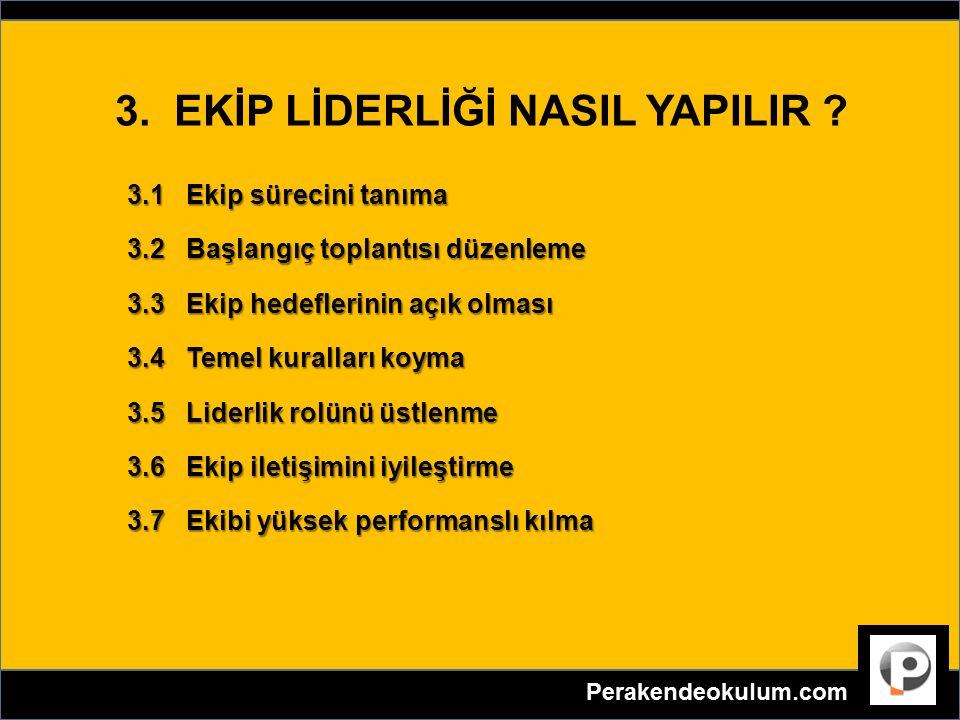 4.EKİP SORUNLARI NASIL ELE ALINMALI .