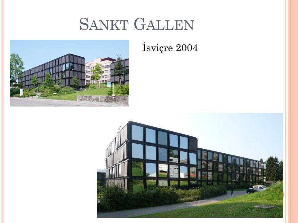 S ANKT G ALLEN İsviçre 2004