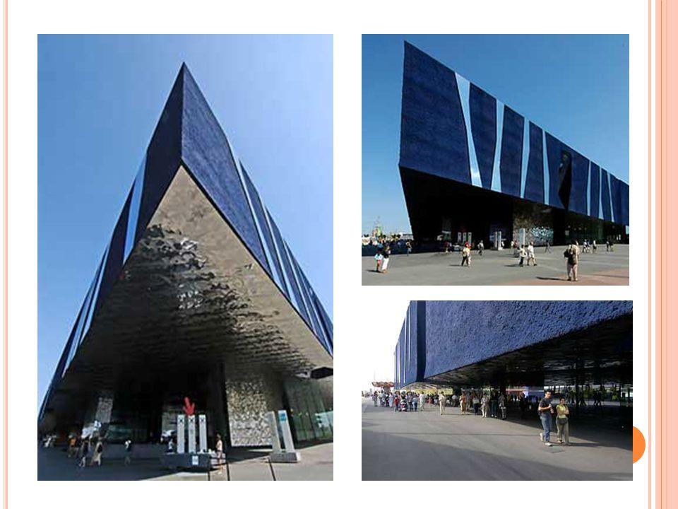 Caixa Forum Madrid Post modern sanat galerisi 2008 M.H. De Young Memorial Muzeum Sanat muzesi 2005