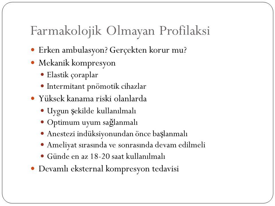 60 ya ş üstü 849 hasta, 2,5 mg Fondaparinux vs Plasebo 6 ila 14 gün tedavi görmü ş lerdir.