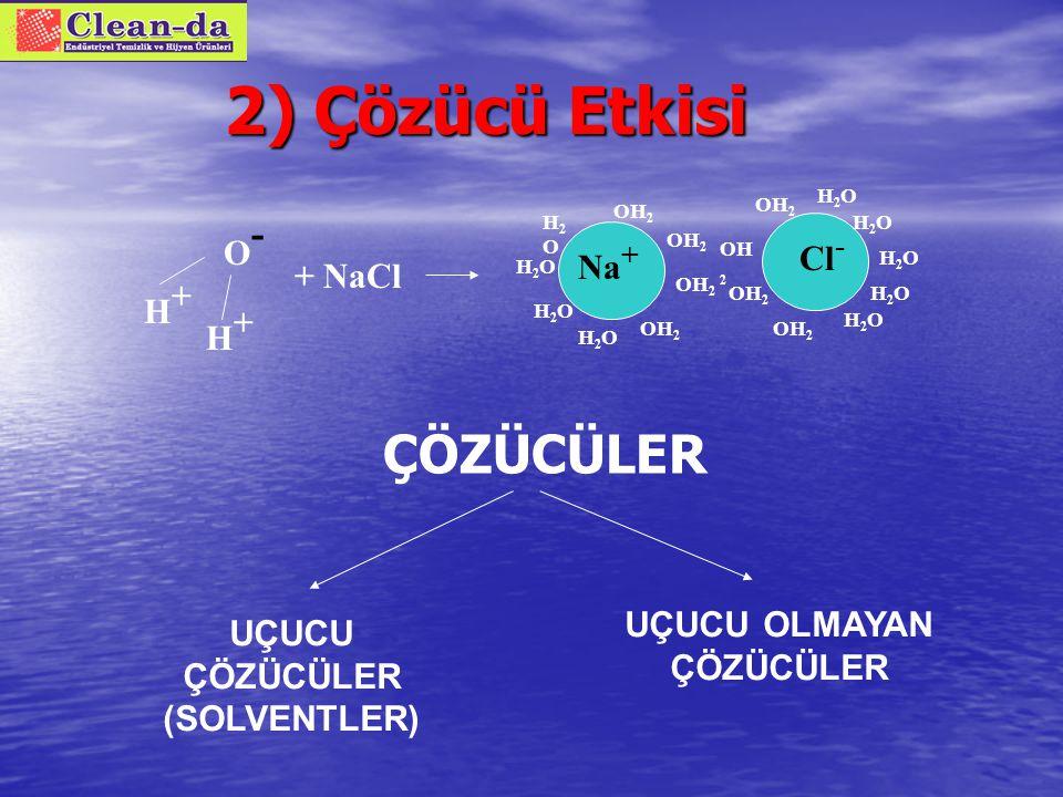 Yüzey aktif maddelerin sınıflandırılması 1.1. Anyonik Yüzey Aktifler 2.