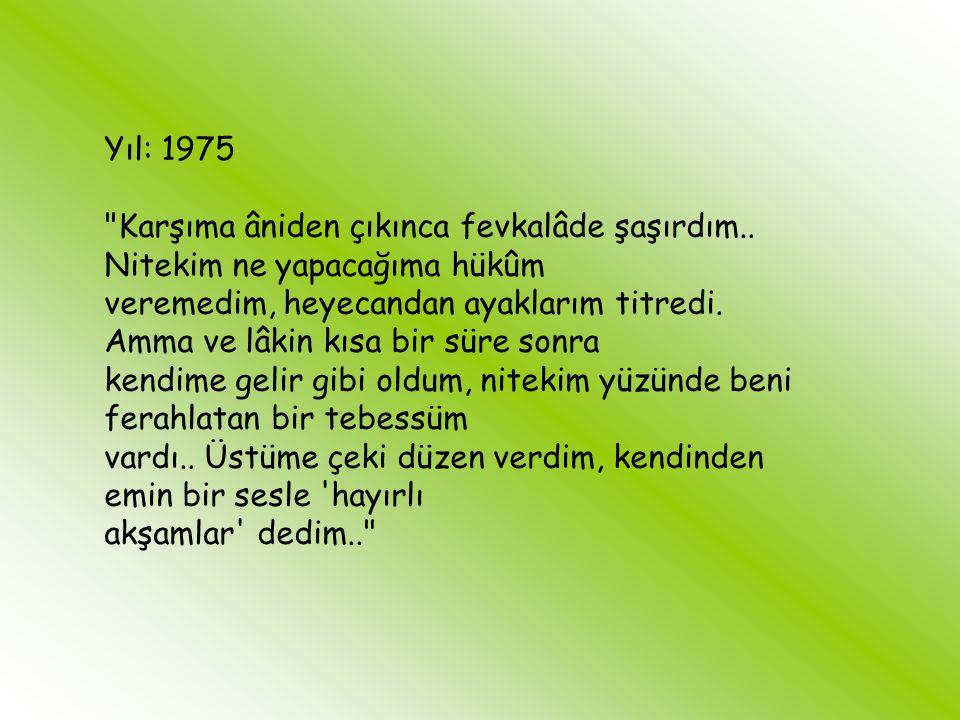 Yıllar ve Türkçe Yıl: 1965