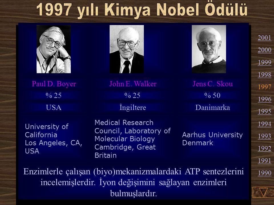 Walter Kohn :1923'te Viyana'da doğdu. 1950'tan 1960'a kadar Pittsburgh'ta Teknoloji Enstitüsü'nde profesör olarak çalıştı. 1960'tan !979'a kadar Calif
