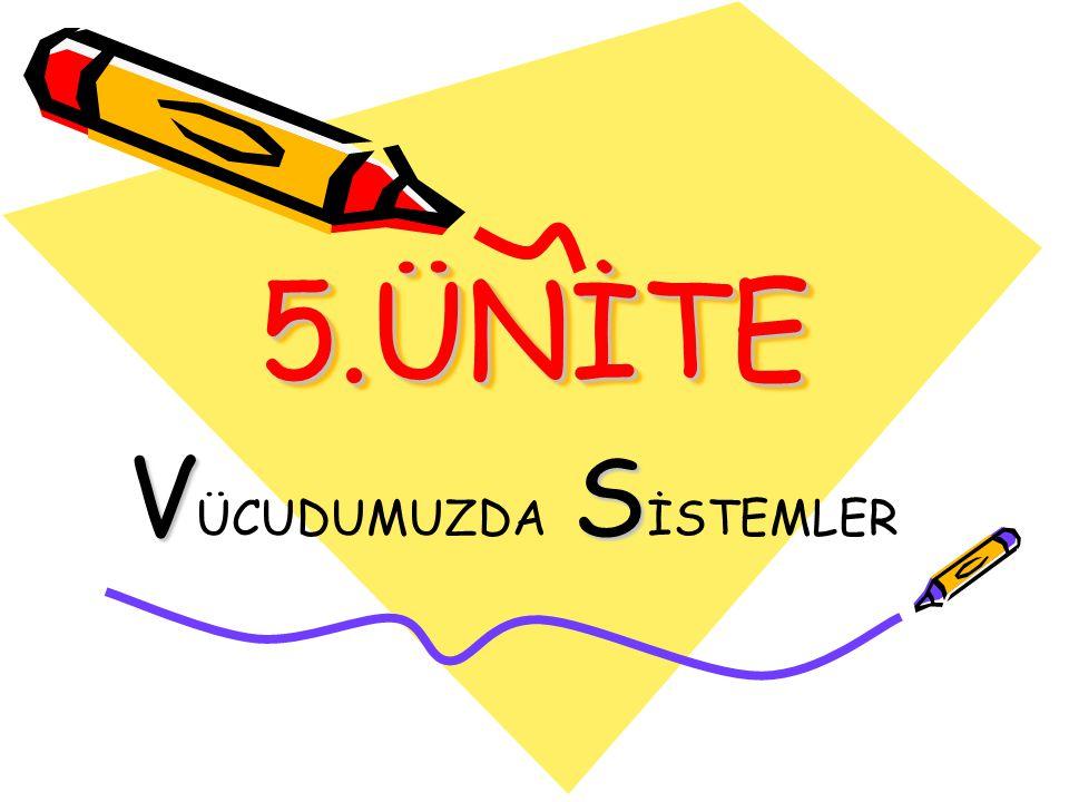 5.ÜNİTE5.ÜNİTE VS V ÜCUDUMUZDA S İSTEMLER