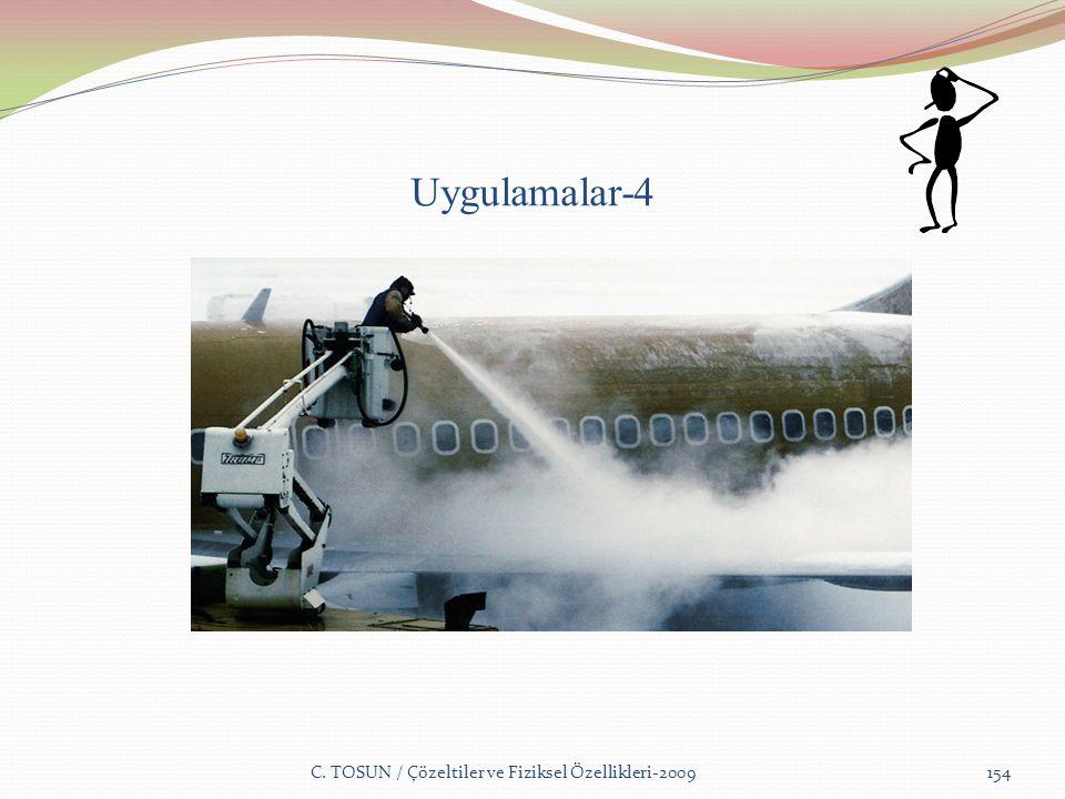 Uygulamalar-4 C. TOSUN / Çözeltiler ve Fiziksel Özellikleri-2009154
