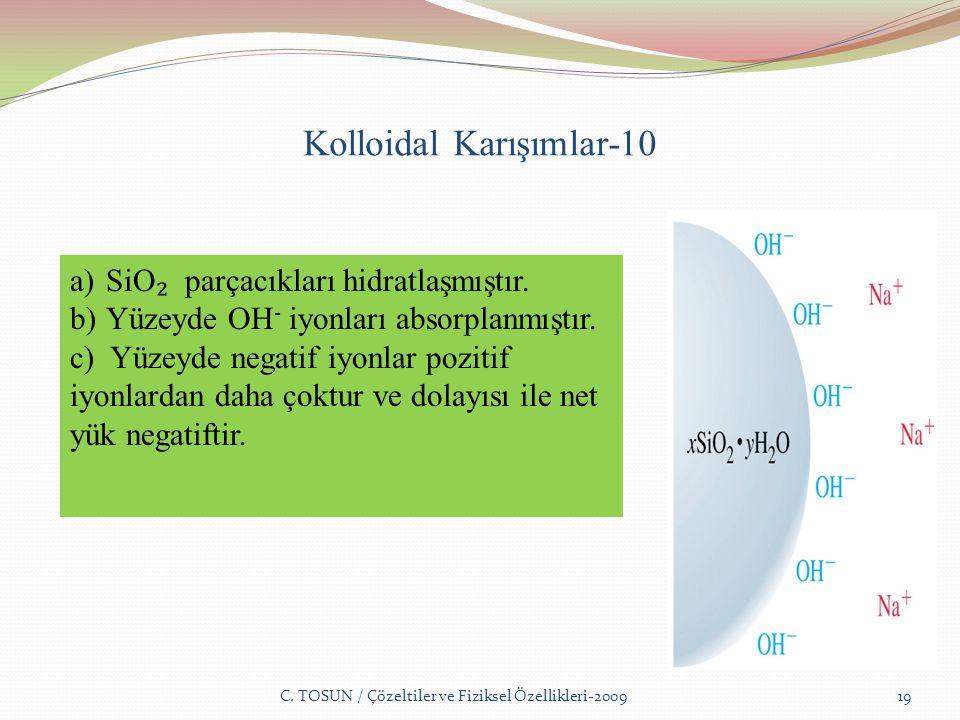 Kolloidal Karışımlar-10 C.