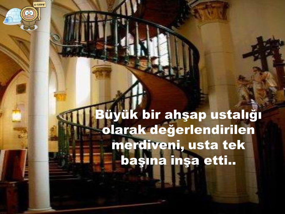 9. gün, kapıyı çalan tanımadıkları bir adam, marangoz olduğunu ve merdiven hususunda yardım edebileceğini söyledi.