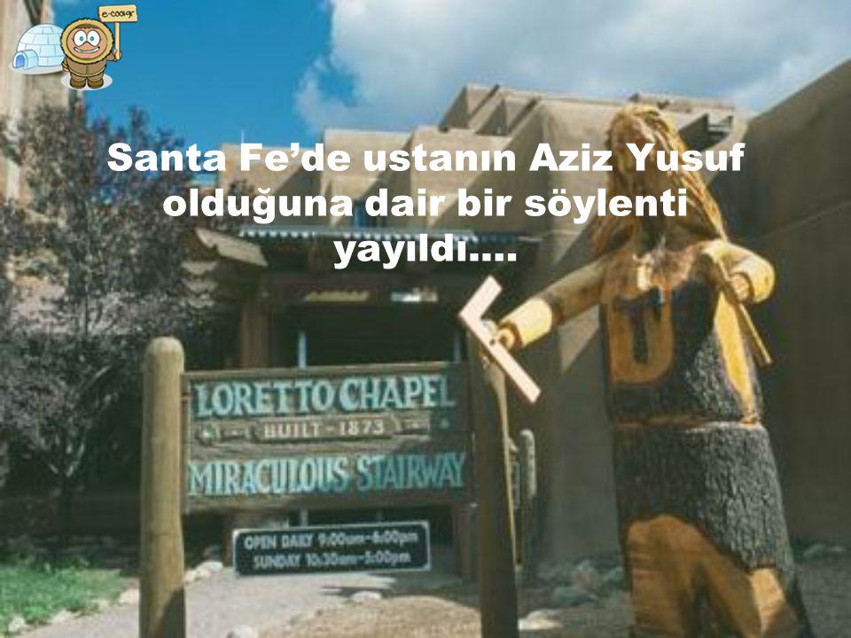 Santa Fe'de ustanın Aziz Yusuf olduğuna dair bir söylenti yayıldı.…