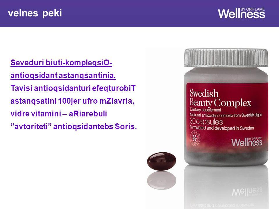Seveduri biuti-kompleqsiO- antioqsidant astanqsantinia.