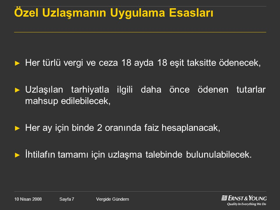 10 Nisan 2008Vergide GündemSayfa 178 (1) Kar Payının Türkiye'de İstisna Olması ► CFC kar payı istisnası var ise dağıtım yapmak avantajlı….