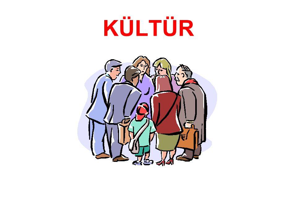 Kültürün kazanılması İnsanların toplumları, ülkeleri birbirinden farklı da olsa biyolojik olarak birbirlerine benzerler, ama inanç, düşünce, tutum ve olayları algılayış tarzı bakımından farklıdırlar.