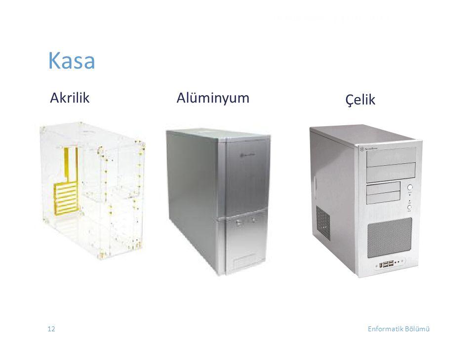 Kasa Akrilik Alüminyum DONANIM - EYLÜL 2012 Çelik Enformatik Bölümü12